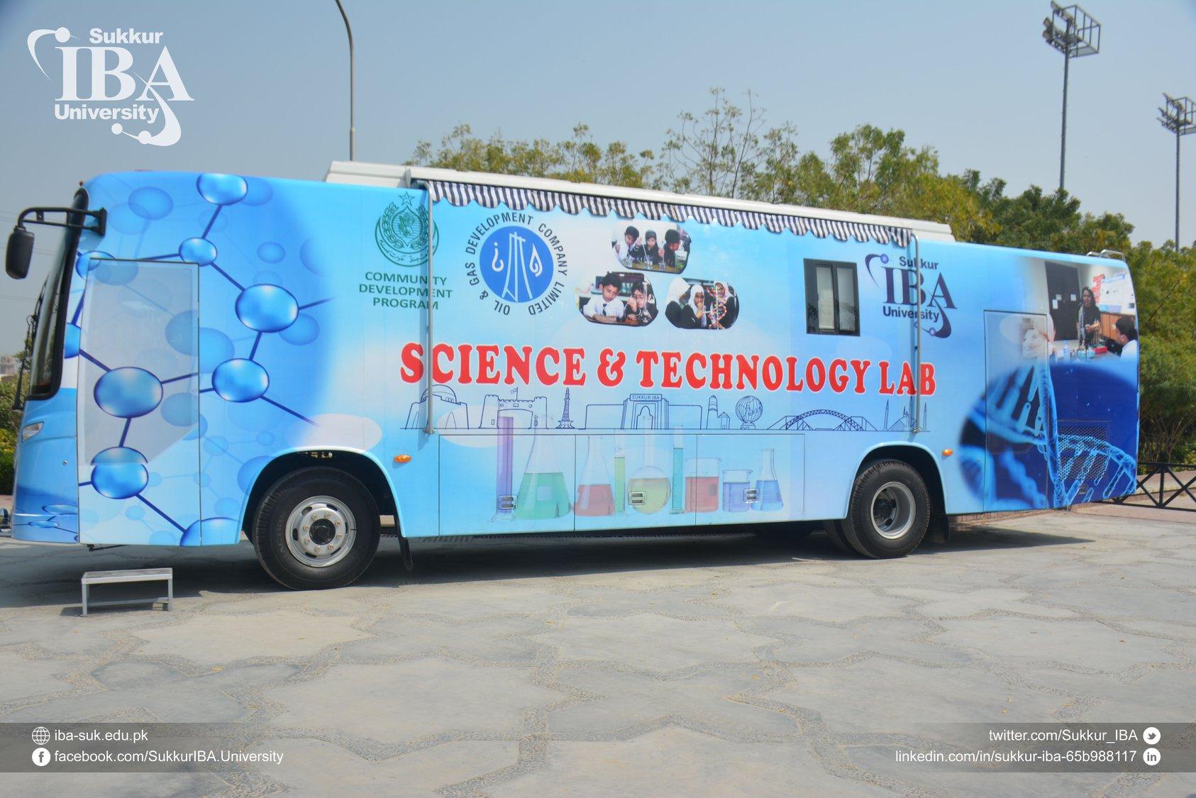 Science Lab - Sukkur IBA University